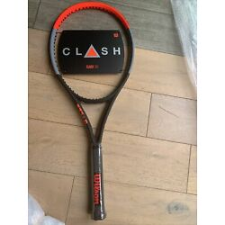 "Kyпить Wilson Clash 100 tennis racket, unstrung, grip 4 1/4"" на еВаy.соm"