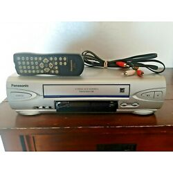 Kyпить Panasonic PV-V4524S Omnivision VCR Player Recorder VHS w/Remote Cords TESTED! на еВаy.соm