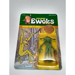 Kyпить Vintage Star Wars Ewoks Cartoon Series Dulok Scout Unpunched MOC на еВаy.соm