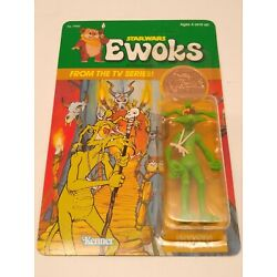 Kyпить Vintage Star Wars Ewoks Cartoon Series Shaman Unpunched MOC на еВаy.соm