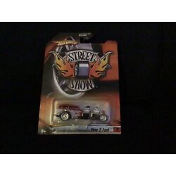 Hot Wheels  Street Show  ~ Way 2 Fast ~  Red Flames ~ Shipped 1st Class
