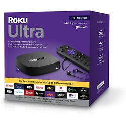 Kyпить Roku Ultra 4K/HDR/Dolby Vision Streaming Media Player with Dolby Atmos (2020) на еВаy.соm