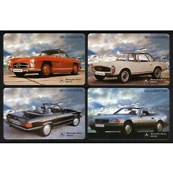 Kyпить Germany: 9 Diff Mercedes Benz Chip Phonecards (Only 2000-3000 printed) Near Mint на еВаy.соm