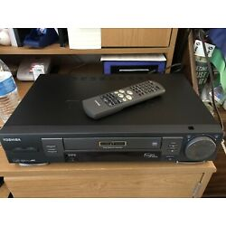 Kyпить TOSHIBA  W-704 STEREO VCR With REMOTE TESTED WORKING на еВаy.соm