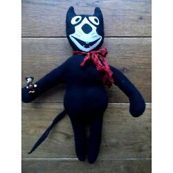 Kyпить VINTAGE DEANS RAG BOOK FELIX THE CAT CHARACTER DOLL HOLDING A MICKEY MOUSE TOY на еВаy.соm
