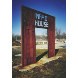 Mayo House 1995 sculpture in Rochester MN Minnesota NFT card created by ELY M.