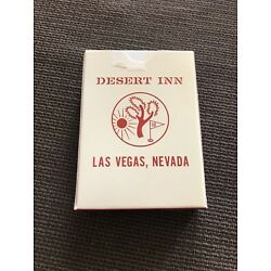 Desert Inn Playing Cards -Vintage- Excellent Condition - Las Vegas Collectable