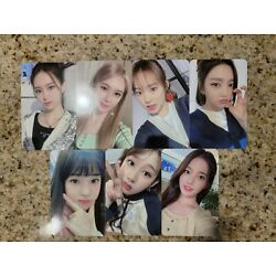 Weeekly We Play Mymusictaste MMT Photocards