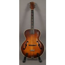 * VERY RARE * Washburn Superb Archtop Acoustic Guitar Model 5248 Made by Gibson