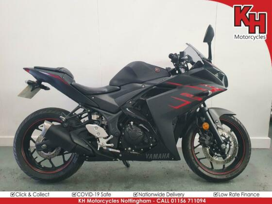 Yamaha YZF-R3 Black 2018 - ONLY 761 MILES - ABS + Service, MOT and Warranty