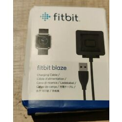 Open box . Genuine Fitbit brand Fitbit Blaze charging cable