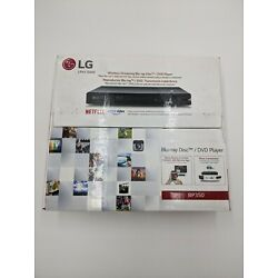 LG Electronics BP350 Blu-Ray Player with Wi-Fi New in Box