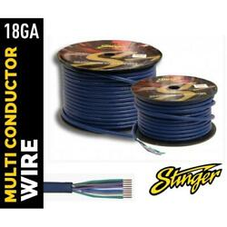 STINGER SGW992 18 GAUGE GA 9 CONDUCTOR COLOR CODED SPEEDWIRE 250 FEET ROLL AAMP