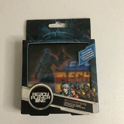 Ready Player One 3D Lenticular Coasters by Paladone (Set of 4) NEW