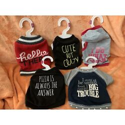 Top Paw And Great Choice Dog Clothes Apparel Assortment XS