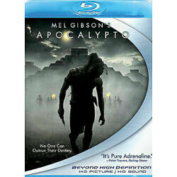 Apocalypto (Blu-ray Disc, 2007) (Directed by Mel Gibson) NEW, sealed
