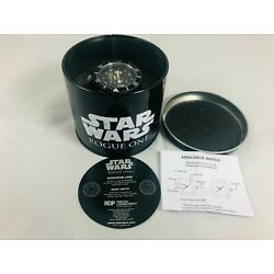 RARE STAR WARS ROGUE ONE WRIST WATCH ANALOGUE PROMOTIONAL ITEM LIMITED EDITION