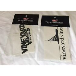 Lot Of 2 Vineyard Vines Set Of 2 Decals Stickers NEW