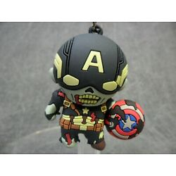 Marvel What If NEW * Zombie Captain America Clip - Chase * Blind Bag Key Chain