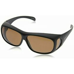 Coleman over sunglasses worn from glasses Polarized lens black mat CO3012-2