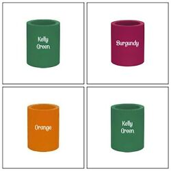 Original Style Old School-4 Thick Foam Can & Bottle Coolers Koozies-Assorted
