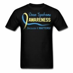 Down Syndrome Awareness Because It Matters Men's T-Shirt