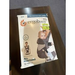 ergo baby carrier 360- All Positions.