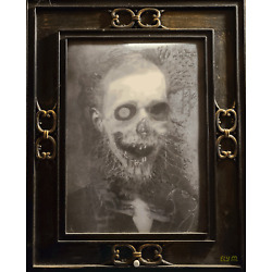 Scary Picture Animated Motion Changing Face Digital Art NFT card made by elymbmx