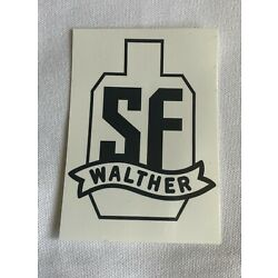 Walther SF Sticker Decal