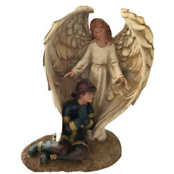 Fireman - Navy - Protected by Guardian Angel - 12  Inch