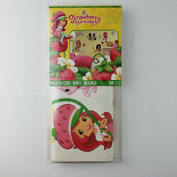 Strawberry Shortcake Peel & Stick Wall Decals Removeable, Re-usable, Pre-cut