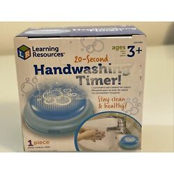Learning Resources Kids 20-Second Handwashing Timer, Stay Clean and Healthy