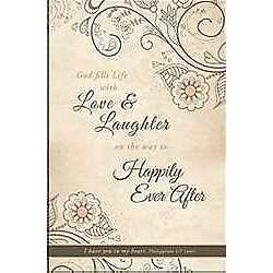 Bulletin-Love & Laughter/Happily Ever After (PhilIppians 1:7  NIV) (Pack Of 100)