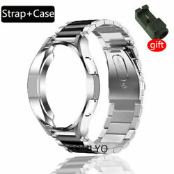 Stainless Steel Watch Band Strap+Case For Samsung Galaxy Watch 4 Classic 42/46mm