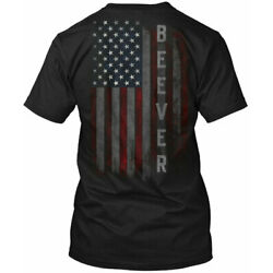 Beever Family American Flag Tee T-Shirt