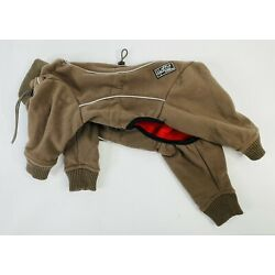 Hurtta Brown Polyester Dog Coat Size 32 cm or 13 inches (Small)