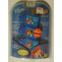 Disney Tunes The Little Mermaid Kid Clips Music Clips Tiger Hasbro New NOS