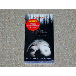 The Blair Witch Project VHS 1999 Blue Tape Variant Brand New Factory Sealed