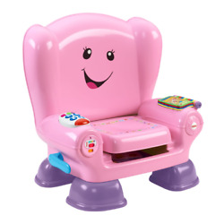 Fisher-Price Laugh and Learn Smart Stages Chair, Pink (OPENED BOX)