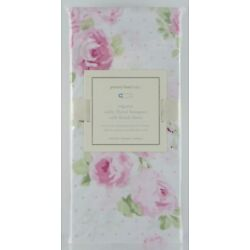 Pottery Barn Kids Sadie Floral Bouquet Organic Crib Fitted Sheet