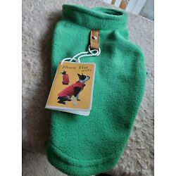 GOOBY Fleece Dog Vest Greeb Size XL for Small Breed Dogs New With Tags