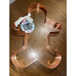 THE BAKE SHOP BY MASTER CLASS JUMBO COOKIE CUTTER-GINGERBREAD MAN-11 IN. NEW