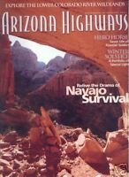 ARIZONA HIGHWAYS January 2004 ~ Navajo Survival Story