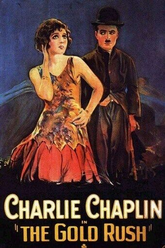 THE GOLD RUSH MOVIE POSTER Charlie Chaplin VINTAGE 3 | eBay