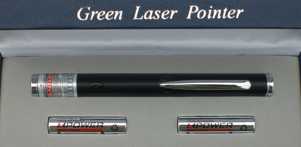 powerful black apc 532nm green laser pointer astronomy pen ebay. Black Bedroom Furniture Sets. Home Design Ideas