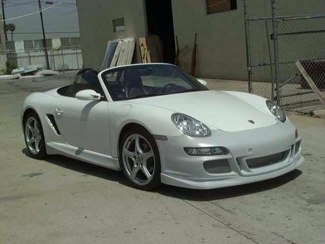 porsche gt3 08 front bumper for cayman and 987 boxster 2005 to 2008 ebay. Black Bedroom Furniture Sets. Home Design Ideas