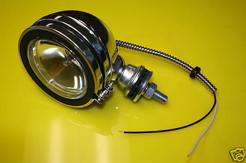 Sand Rail Headlight Street : Chrome headlight assembly offroad sand rail dune buggy ebay