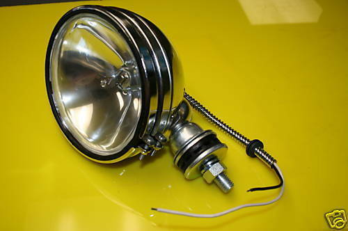 Dune Buggy Lights : Chrome headlight assembly offroad sand rail dune buggy ebay