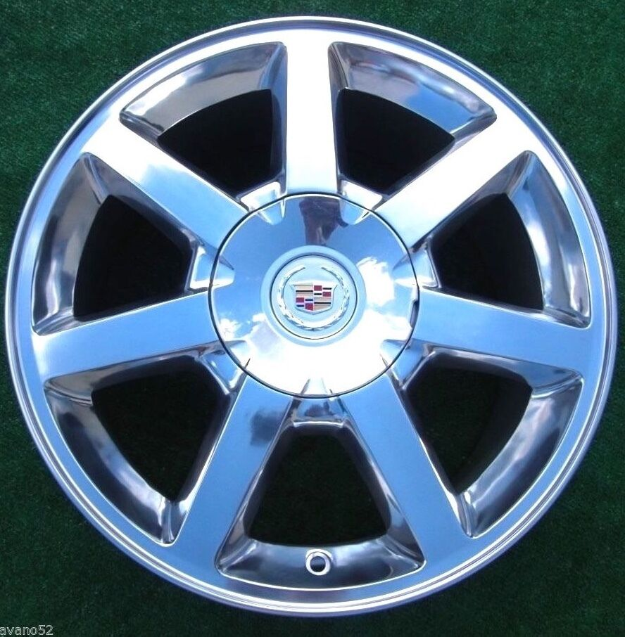 2005 Cadillac Sts Tires NEW POLISHED Cadillac STS CTS 17 in OEM Factory GM Spec N93 Q13 WHEEL ...