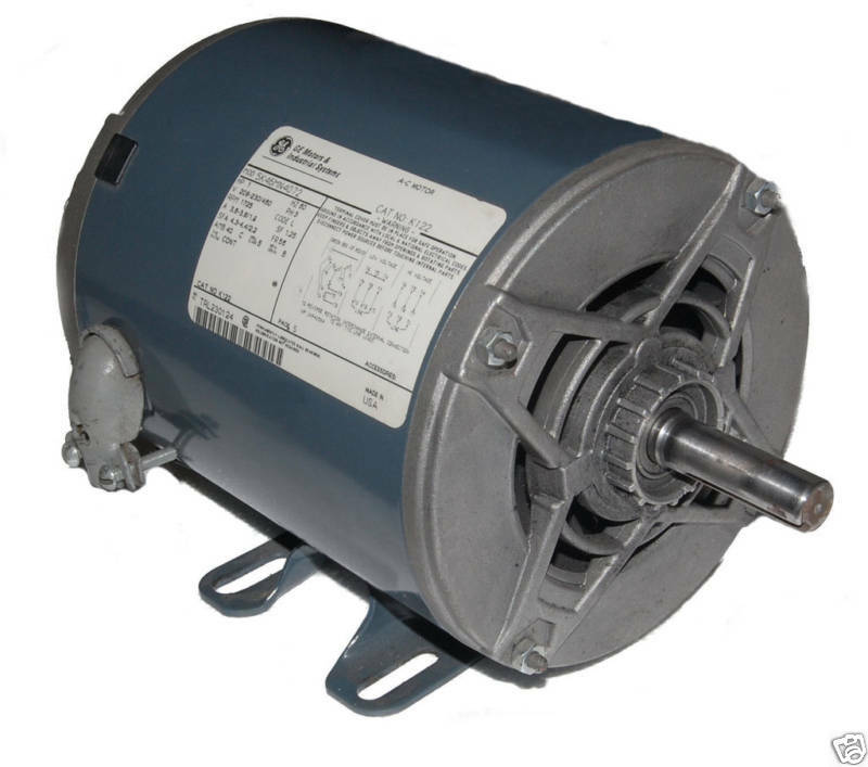 1 hp 1725 rpm ge motor new surplus ebay for Ge commercial motors 5kcp39fg